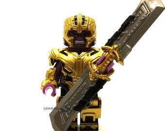 Thanos Gold Armor Custom Minifigure