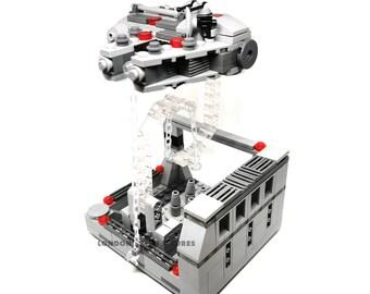 Star Wars Millenium Falcon Lego Tensegrity Set