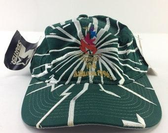 1996 Olympic Games Atlanta Mens Silk Tie Rm Sport Memorabilia Deadstock Nwt Vtg Sports Mem, Cards & Fan Shop