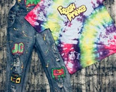 Adult fresh prince inspired overalls open to custom orders please read details below for direon how to request custom details