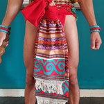 Mexica Maxtlatl, Aztec or Mexica loincloth,  native american regalia, Aztec Mexican Spirituality Art, Corazon Mexica, atuendo
