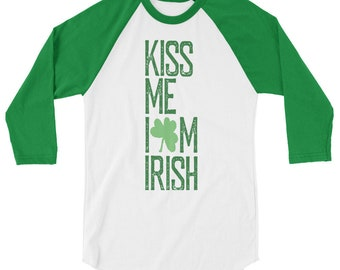 0788b2cd8 St. Patrick's Day T-Shirt - Kiss Me I'm Irish - Allow 2 weeks to receive  (See size chart last image. Sizes say Mens but shirt is Unisex)