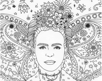 20 frida kahlo cartoon coloring pages  printable coloring pages