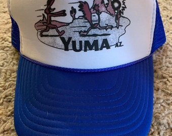 2c310f0a55e80 Wile E. coyote and Roadrunner Trucker Hat