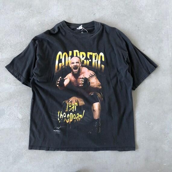 Vintage 90s Wrestling WWF WWE Goldberg Tee
