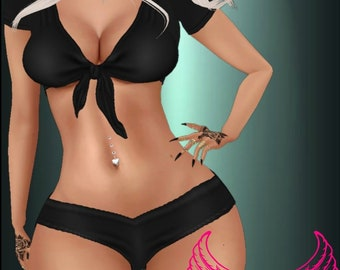 3c225318c0 Imvu Complete Outfit (GA) female CKN+tEXTURE