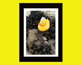 20X30 cm color photo numbered print - Vamos a la playa