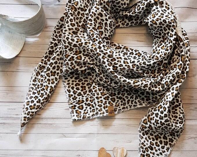 XXL scarf in muslin