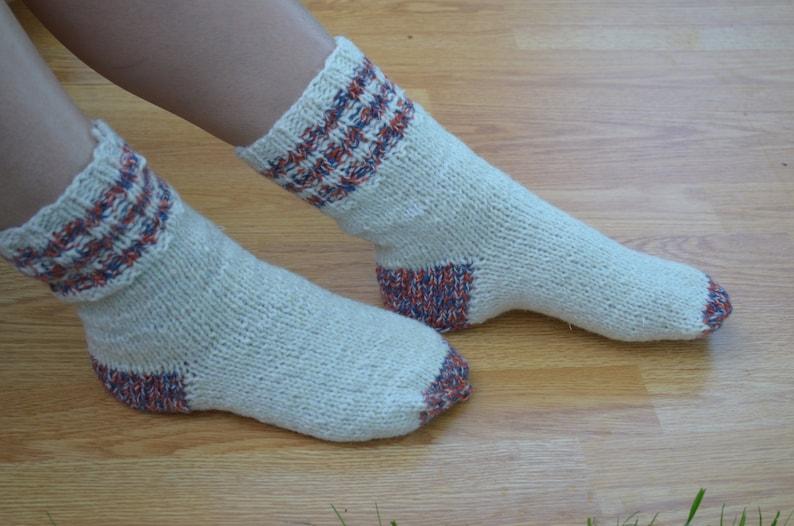 unisex socks Christmas gift Woolen socks winter accessories women/'s wool socks. knitted wool socks