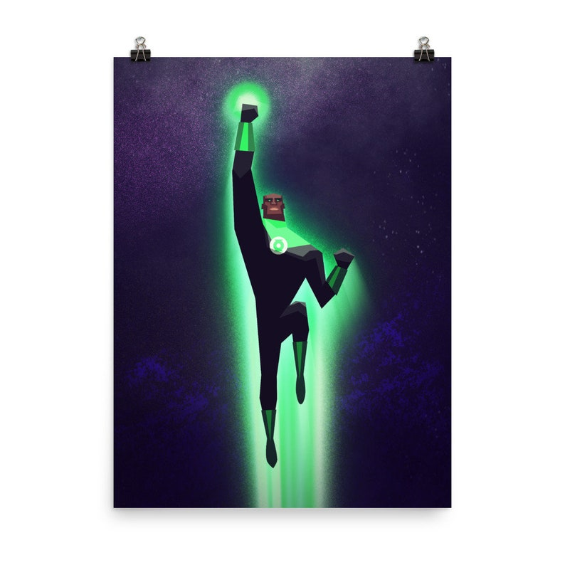 Poster JOHN STEWART Green Lantern Corp