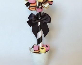Bassetts Liquorice Allsorts Sweet Tree - Luxury Sweet Gift - Special Occasion - Valentine's Day - Birthday - Mother's Day - Anniversary