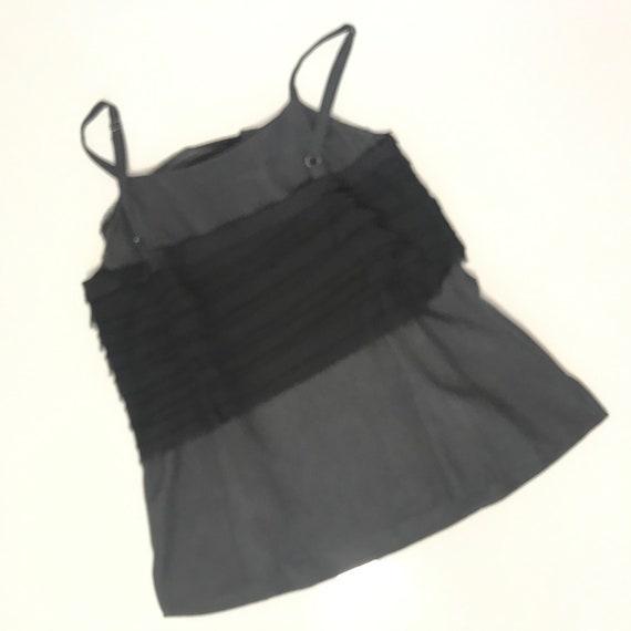 Rag and Bone black silk top, size 4 - image 5