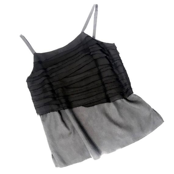 Rag and Bone black silk top, size 4 - image 2