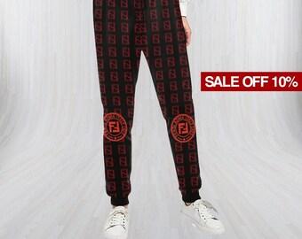 1c979e72e296e Fendi Sweatpants, Fendi Pant, Yoga Pants, Jogger Pant, Sports Clothing,  Athletic Pant, All Over Print Pant, Men Women Sweatpants