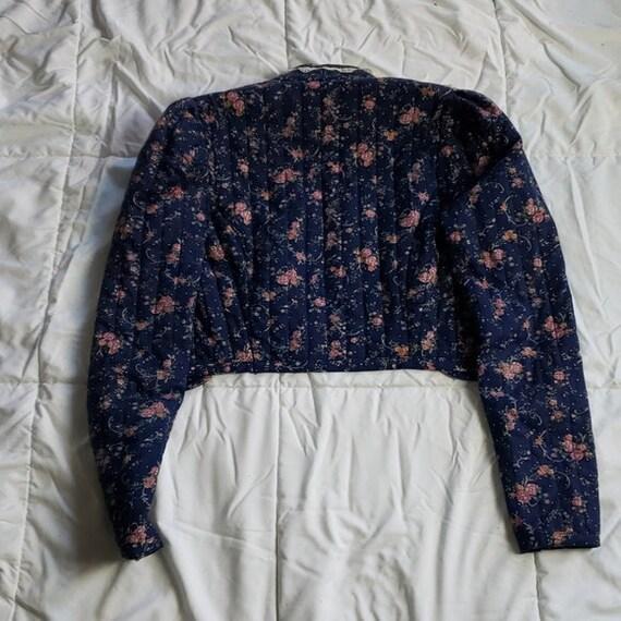 Gunne Sax Vintage Quilted Prairie Jacket - image 7