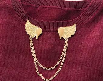 d2241d811e Collar brooch | Etsy