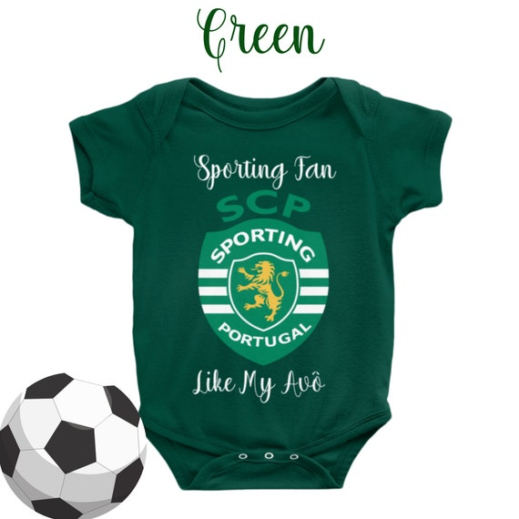 Gift Portugal Personalised Benfica Inspired Football Baby Grow Kids t-shirt