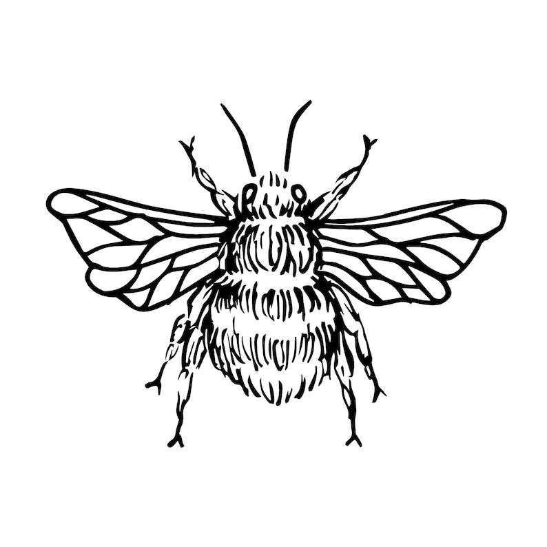 Honeybee Tattoo Design 2   Etsy