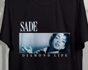 e667ce0ebee0 Sade T Shirt Diamond Life, Sade Shirt, Sade Tshirt, Sade Tee, Sade Tour  Vintage 90's Unisex Clothing