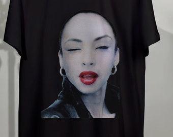 d032ce40ba70 Sade T Shirt , Sade Shirt, Sade Tshirt, Sade Tee, Sade young icon Rock Soul  R&B music legend 90's Unisex Clothing