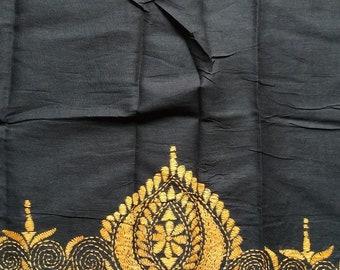 631713b2ae397 Kantha stitch blouse piece