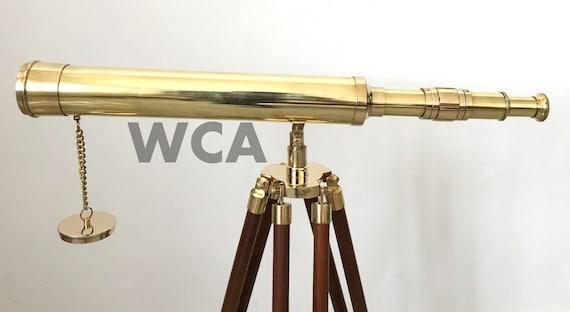 Nautical Brass Telescope Vintage Marine Spy Glass Telescope Marine Scope Gift