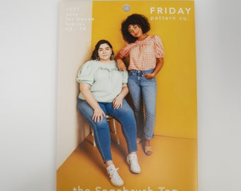 The Sagebrush Top - Friday Sewing Pattern Company (Paper)