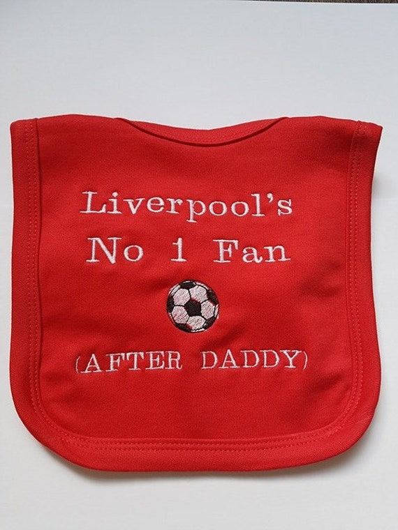 Personalised Football Bodysuit ARSENAL'S No1 DRIBBLER JUST LIKE MY DADDY