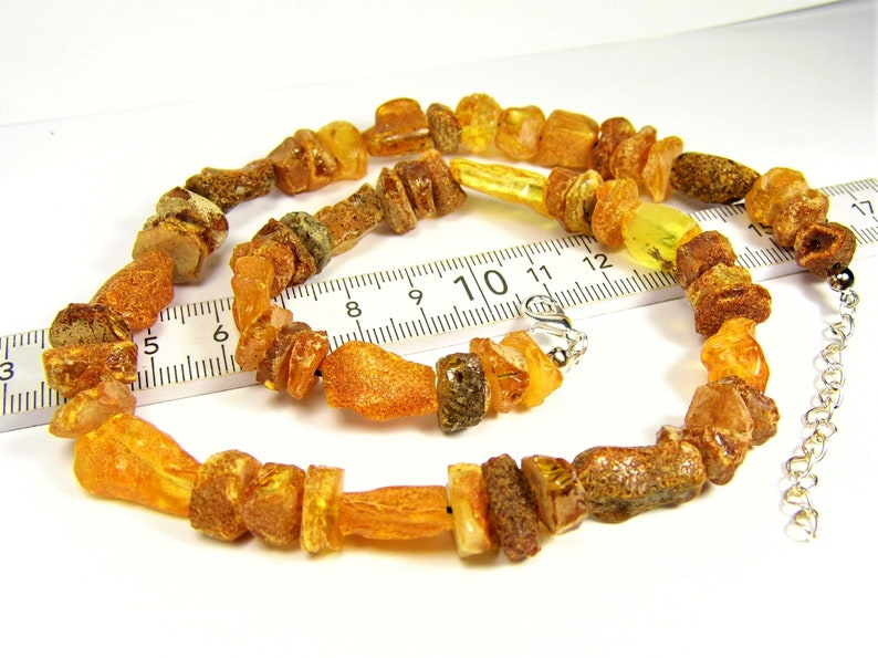 Brown unpolished Baltic Amber natural genuine raw rough stones 24 grams necklace women/'s jewelry authentic unique gemstone AP600