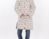 Indian Cotton Block Printed Women Long Jacket Quilted Designer Fashionable Coat Hippie Jacket