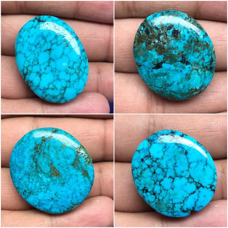 Pendant Turquoise Blue Turquoise Palmstone Healing Turquoise Gemstone, Beautiful Turquoise Cabochon Oval Turquoise Handmade Turquoise