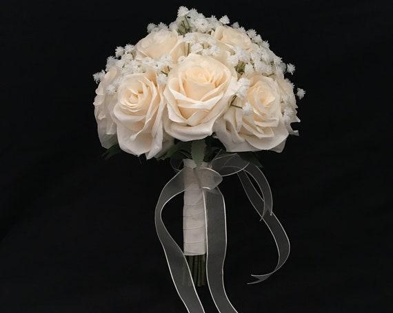 Brautstrauß - weiß