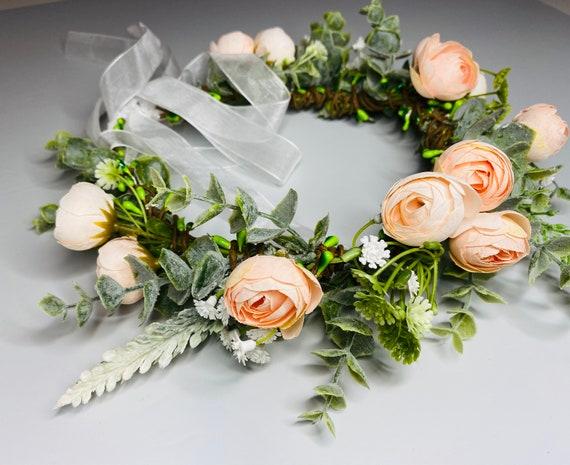 Blumenkranz in verschiedenen Farben