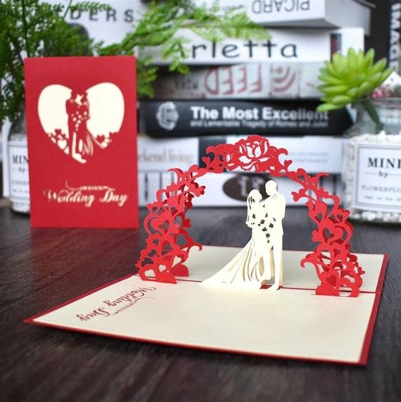 Hochzeitskarte Pop Up