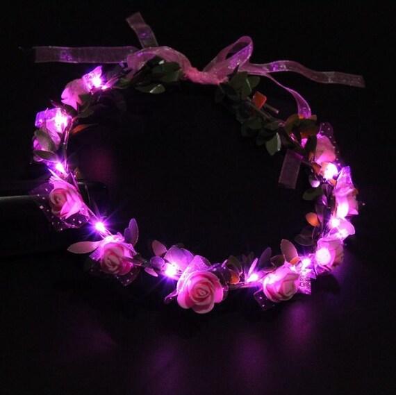 Blumenkranz leuchtend
