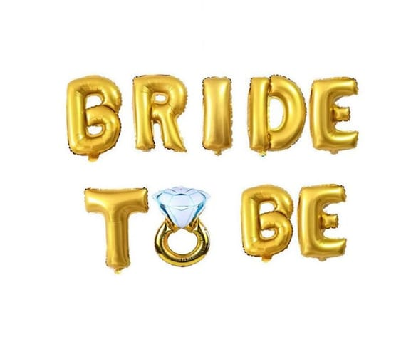 Bride to Be - Luftballons