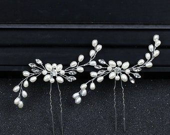 Hair pin bridal, hair clip gold, wedding hair clip, headpiece gold bridal, bridal jewelry gold, bridal headpiece wedding set gold