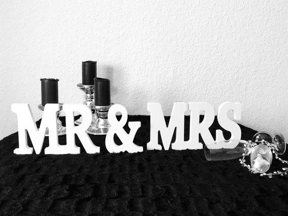 Mr & Mrs Tischdeko