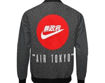 outlet store 43630 81753 Air Swooosh Godzillaz Grey - Lightweight Bomber Jacket, Bomber Jacket, Gift  Jacket, Jacket for him, Unisex Jacket, Streetwear