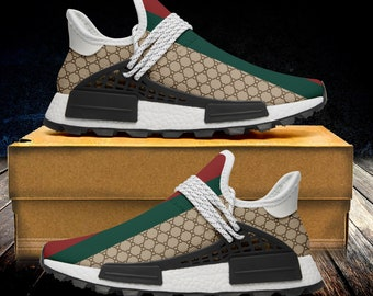 41af8cf1c0 Custom Hande Made Sublimation Painted HR Infinity Logo Script Stripes  Unisex Running Shoes - Custom shoe