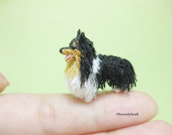 Crochet Border Collie Dog – Helenmay Crochet You Tube Channel   448x570