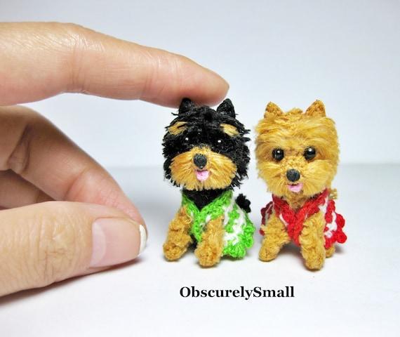 Crochet Yorkshire Terrier / Crochet Yorkie / Dog Amigurumi | Etsy | 480x570