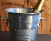 Vintage French ROEDERER Champagne, wine cooler, ice bucket