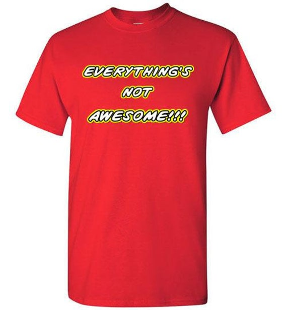 7 5-6 Youth Lego Everything Is Awesome Shirt New 4