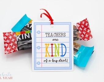 Kind of a Big Deal Teacher Appreciation Gift Tags