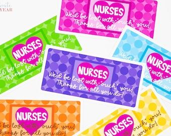 Nurse Appreciation Gift Tags