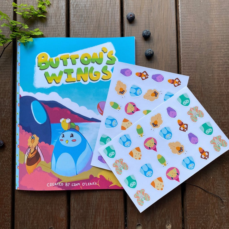 Button's Wings  Self Published Childrens Books Australia image 0