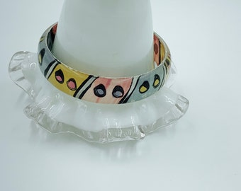 total retro fun 1980s statement bangle
