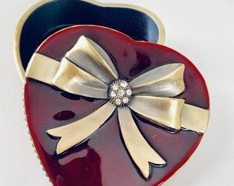 Heart jewelry box