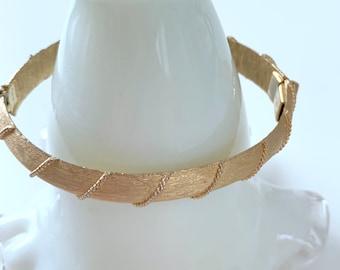 Trifari gold tone bracelet
